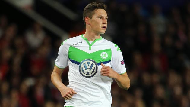 Julian Draxler will Wolfsburg unbedingt verlassen (Bild: GEPA)