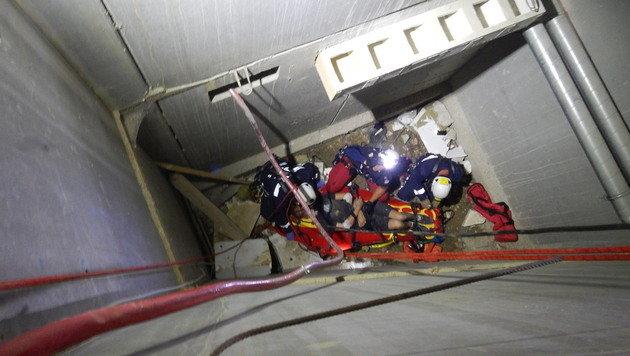 Mann st�rzt sechs Meter in die Tiefe - Beckenbruch (Bild: MA 68-Lichtbildstelle)