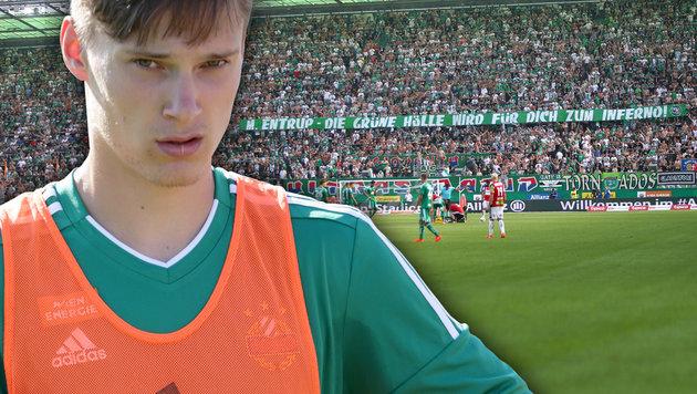 Nächste Fan-Attacke auf Maximilian Entrup (Bild: GEPA)
