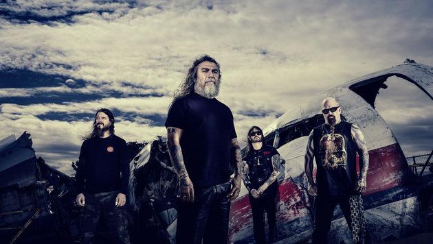 """Slayer: """"Versuchen, wie unsere Fans zu denken"""" (Bild: Martin Häusler)"""