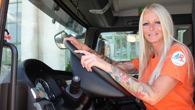 """""""Blond & fesch: Tamara - die Abfuhr-Queen der City (Bild: zet)"""""""