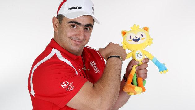 Gewichtheber Sargis Martirosjan (Bild: GEPA)