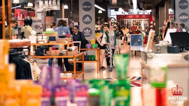 """""""Diese 8 Pop-up-Stores dürft ihr nicht versäumen! (Bild: facebook.com/britishpopup)"""""""