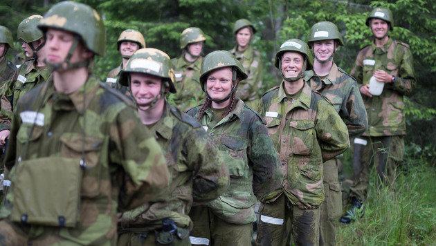 Norwegens Frauen müssen zum Heer (Bild: Forsvaret)