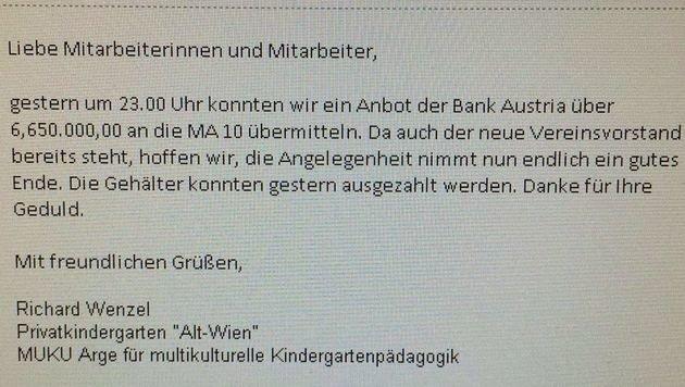 """""""Alt-Wien"""": Rettung der Kinderg�rten gescheitert (Bild: """"Krone"""")"""