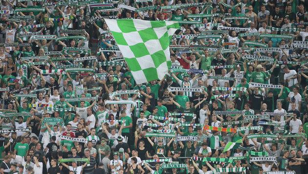Rapid streifte in Vorsaison 10,6 Mio. von UEFA ein (Bild: GEPA)