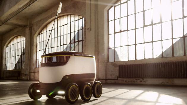 Hermes startet Paketzustellung per Roboter (Bild: Starship/Hermes)