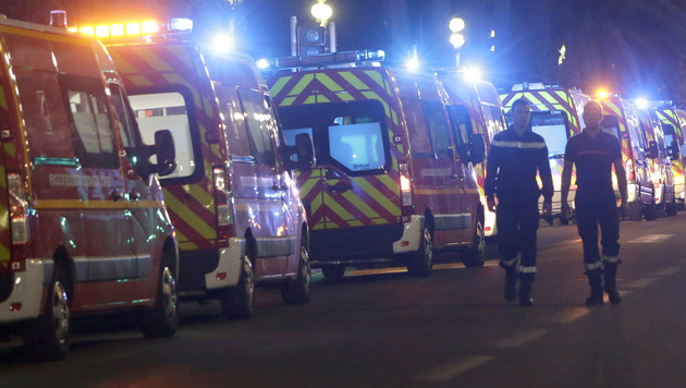 Beim Anschlag in Nizza starben 84 Menschen. (Bild: AP)
