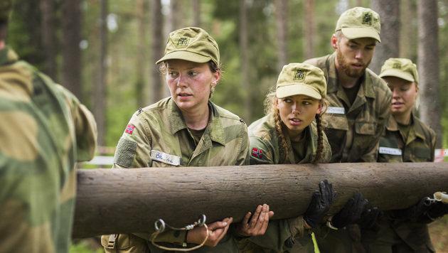 Norwegens Frauen müssen zum Heer (Bild: Julia Kalvik/Forsvaret)