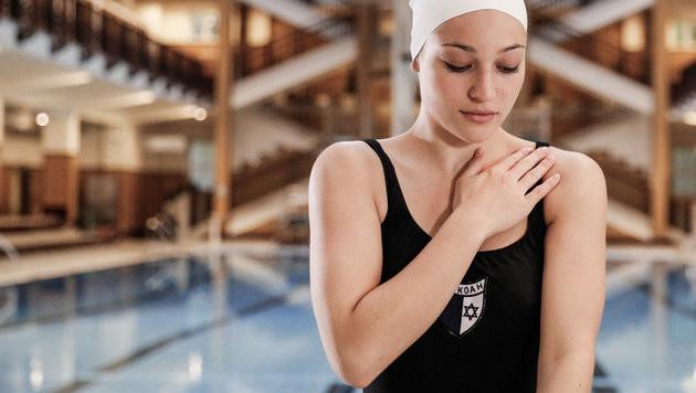 Antonia Moretti spielt die Schwimmerin Judith Deutsch. (Bild: ORF)