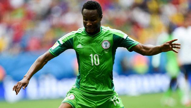 Nigeria-Kapitän John Obi Mikel (Bild: GEPA)