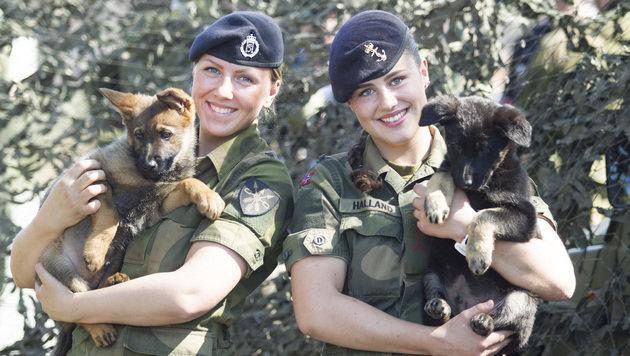 Norwegens Frauen müssen zum Heer (Bild: Marte Brohaug/Forsvaret)