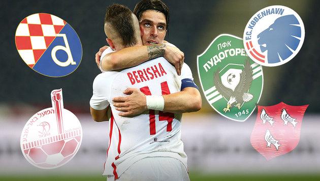 Play-off: Das sind Salzburgs mögliche Gegner (Bild: GEPA)