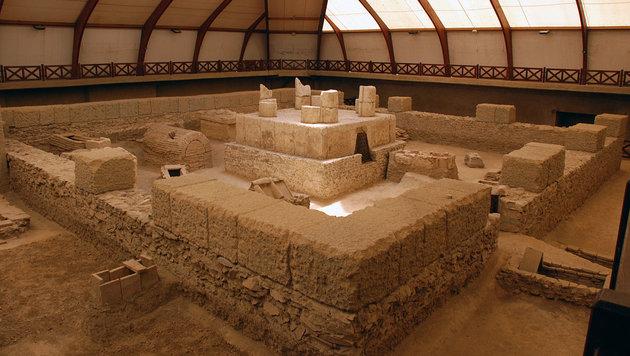 Eine der vielen römischen Grabstätten in Viminatium (Bild: Wikimedia/Cultural Heritage of Serbia)