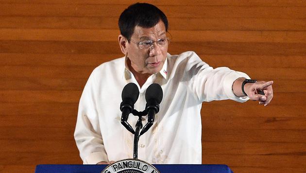 Rodrigo Duterte (Bild: AFP)