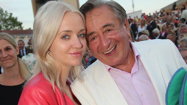 Cathy und Richard Lugner (Bild: Peter Tomschi)