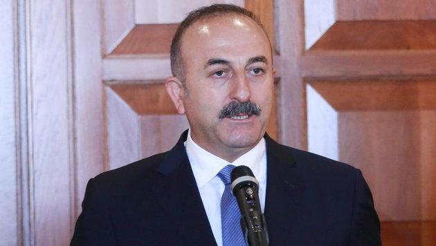 Der t�rkische Au�enminister Ahmet Cavusoglu (Bild: AFP)