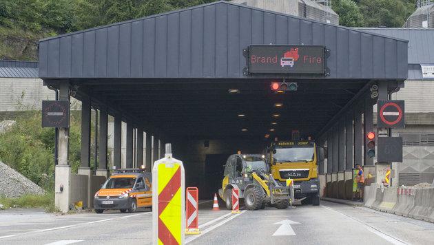 Gleinalmtunnel: Reparaturen ab Montag geplant (Bild: APA/ELMAR GUBISCH)
