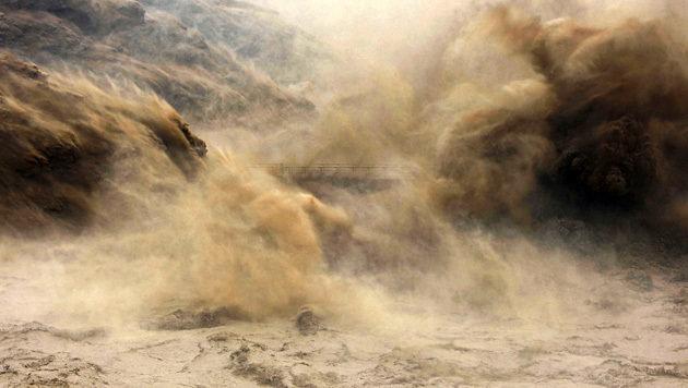 Beweise für Mega-Flut in China vor 4000 Jahren (Bild: AFP)