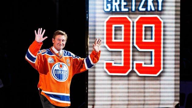 Gretzky-Sammelkarte für 465.000 Dollar verkauft! (Bild: 2016 Getty Images)