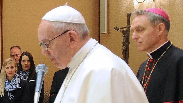Papst Franziskus twittert an alle Olympioniken (Bild: APA/…SV/ERICH SPIESS)