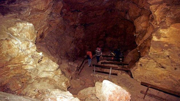 Die Lamprechtshöhle in Salzburg (Bild: APA/KERSTIN JOENSSON)