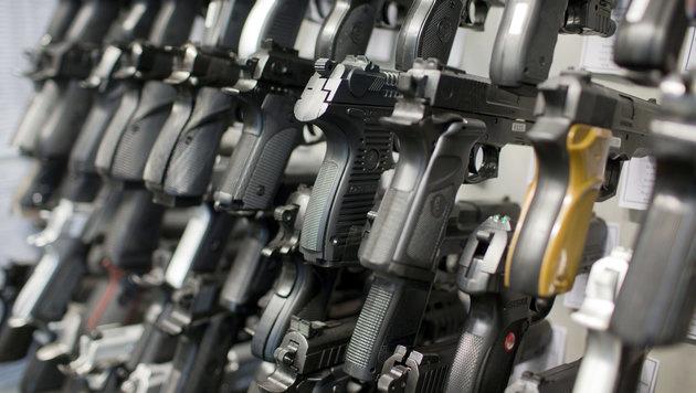 Slowaken decken sich mit immer mehr Waffen ein (Bild: APA/dpa-Zentralbild/Jens Büttner)