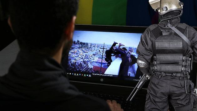 Terrorverdacht wegen PC-Spiel: Cobra im Einsatz (Bild: AP, thinkstockphotos.de)