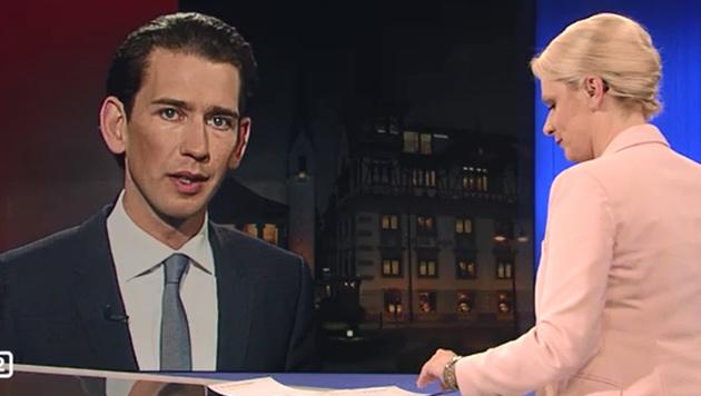 """Kurz: """"EU muss ihre Hausaufgaben machen."""" (Bild: ORF)"""