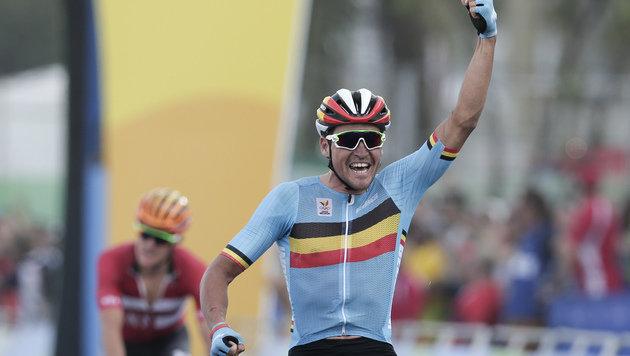 Belgier Van Avermaet erobert Gold im Straßenrennen (Bild: AP)