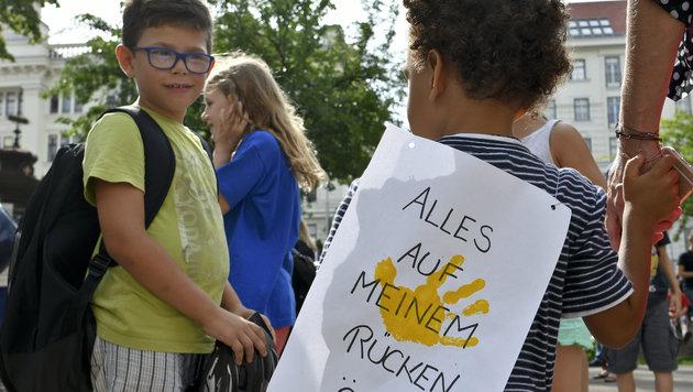 Erneut Wirbel um privaten Kindergarten in Wien (Bild: APA/HERBERT NEUBAUER)