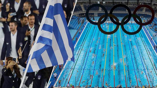 Griechen enttäuscht von erstem Doping-Fall (Bild: AP, APA/AFP/CHRISTOPHE SIMON)