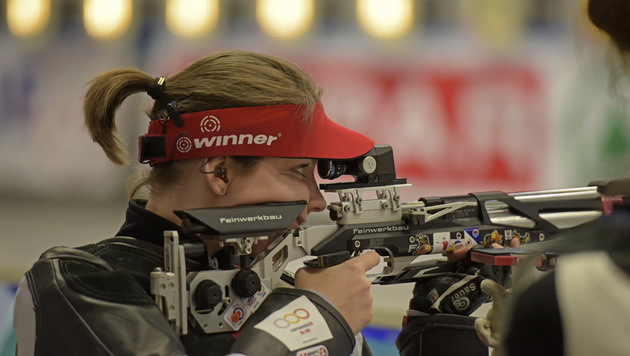 Olivia Hofmann schießt knapp am Finale vorbei (Bild: GEPA)