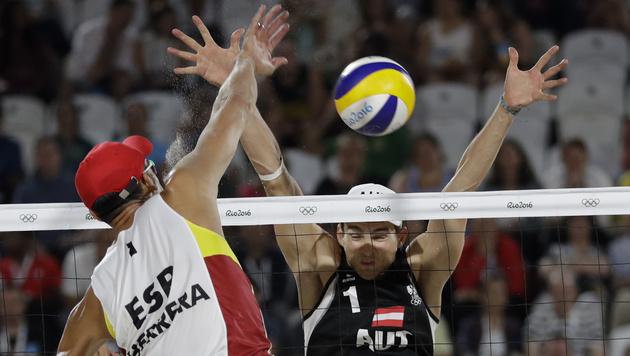 Auch Huber und Seidl verlieren zum Auftakt in Rio (Bild: AP)