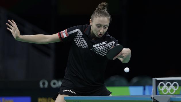 Polcanova in zweiter Tischtennis-Runde mit 2:4 out (Bild: AP)