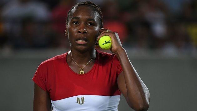 Venus Williams früh gegen Flipkens ausgeschieden (Bild: AFP)