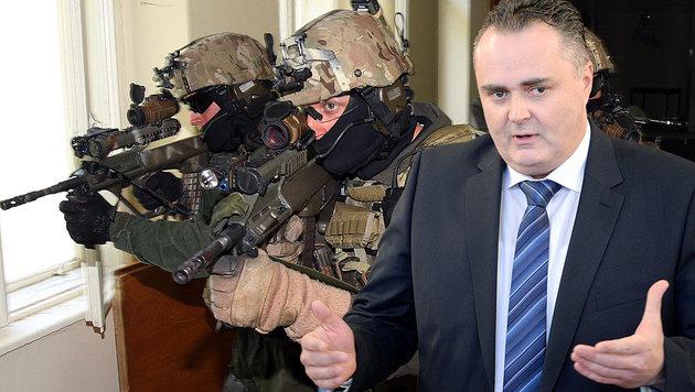 Verteidigungsminister Hans Peter Doskozil (Bild: APA/ROLAND SCHLAGER, Zwefo)