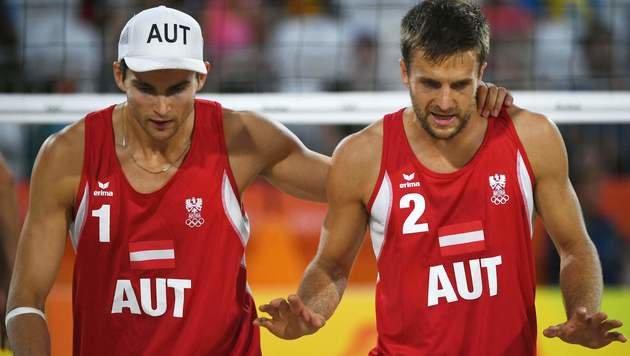 Sensationell! Doppler/Horst besiegen Weltmeister (Bild: AFP)