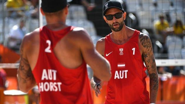 Doppler/Horst direkt für Achtelfinale qualifiziert (Bild: AFP)