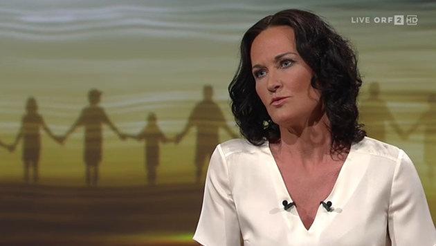 Eva Glawischnig möchte die Grünen nach der nächsten NR-Wahl auch als Oppositionspartei anführen. (Bild: tvthek.orf.at)