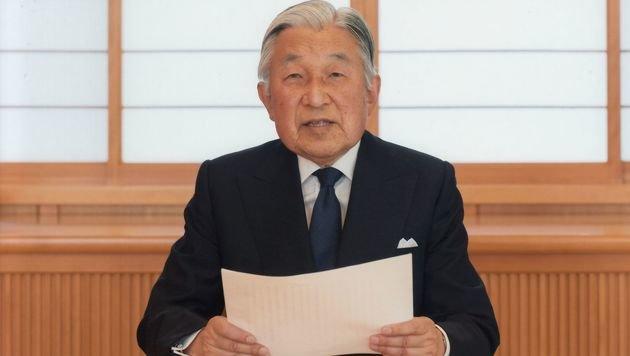 Japans Kaiser Akihito (Bild: APA/AFP/IMPERIAL HOUSEHOLD AGENCY)