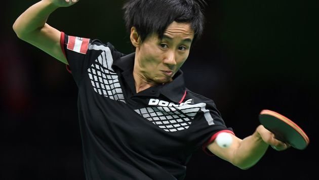 Liu Jia im Achtelfinale - Stefan Fegerl früh out (Bild: AFP)