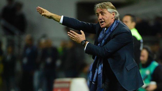 Mancini verlässt Inter! Folgt De Boer? (Bild: AFP or licensors)