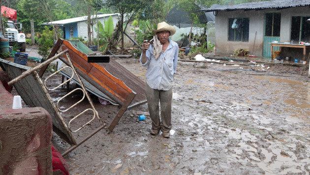 Mexiko: Tropensturm fordert Dutzende Tote (Bild: AFP)