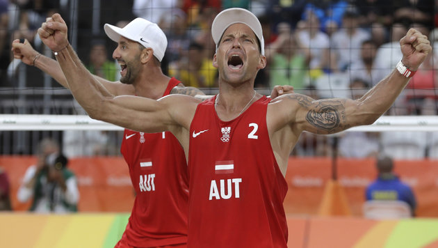 Sensationell! Doppler/Horst besiegen Weltmeister (Bild: AP)