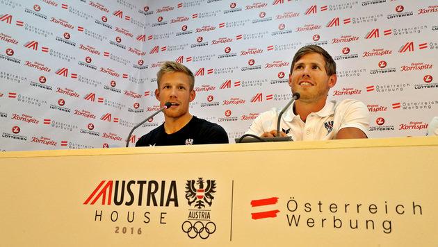 Bernhard und Paul Sieber (Bild: GEPA)