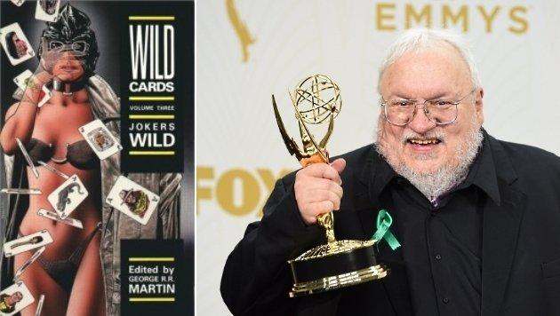 """""""Wild Cards"""" von George R. R. Martin findet den Weg ins Fernsehen. (Bild: grrm.livejournal.com, AFP)"""