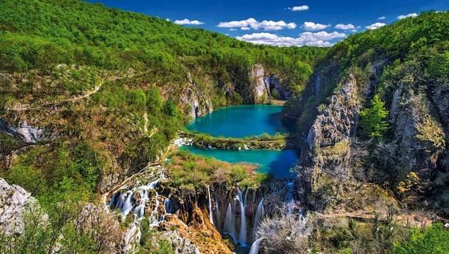 Die Plitvicer Seen sind atemberaubend schön. (Bild: Gospic)