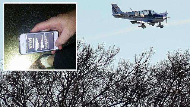 iPhone überlebt 800-Meter-Sturz aus Kleinflugzeug (Bild: flickr.com/66235205@N06, facebook.com/Jeannine Buck)