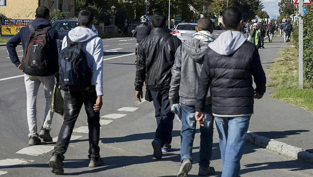 Asylwerber rammt Landsmann Messer in den Rücken (Bild: APA/ERWIN SCHERIAU (Symbolbild))